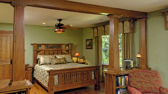 Mission Accomplished:  Stickley Arts and Crafts Award-winning Bedroom