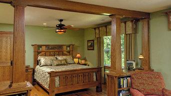 Mission Accomplished:  Stickley Arts and Crafts Award-winning Bedroom