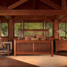 Craftsman Bedroom by Stickley Furniture