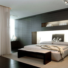 Contemporary Bedroom by Troy Dean Interiors
