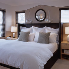 Modern Bedroom by MJ Lanphier