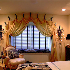 Traditional Bedroom by Michael J. Moore