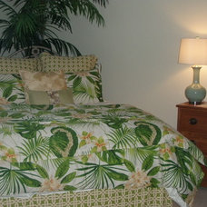 Tropical Bedroom by Harrison Griffith
