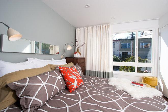 Midcentury Bedroom by Regan Baker Design