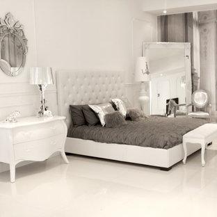 Idées déco pour une chambre contemporaine.