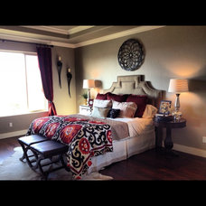 Traditional Bedroom by Allure Interiors Inc.....Crystal Ann Norris