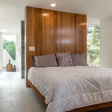 Modern Addition - Master Bedroom