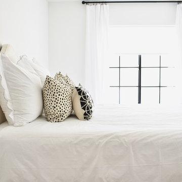 Modern & Bright Guest Bedroom