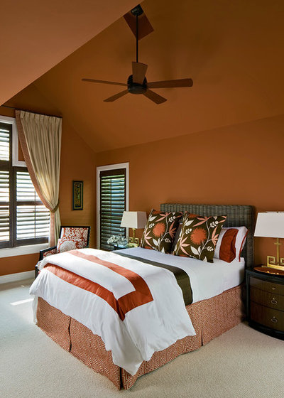 Traditional Bedroom by Amy Werfel Interiors