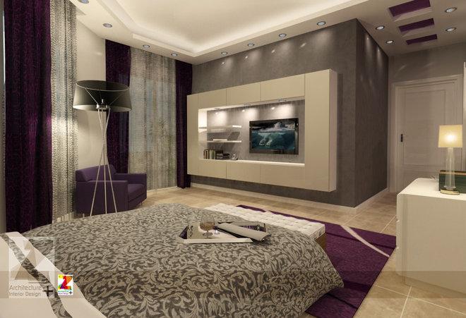 Modern Bedroom by Aya Shalakany