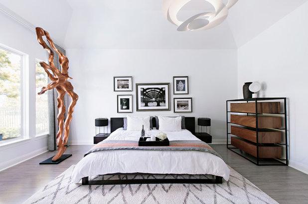 Contemporary Bedroom by Contour Interior Design, Inc.