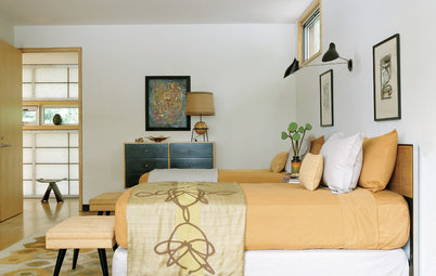 Smart Ways to Give Your Sleep Space Midcentury Style