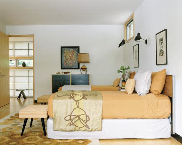 Camera da letto anni '50: arredamento vintage