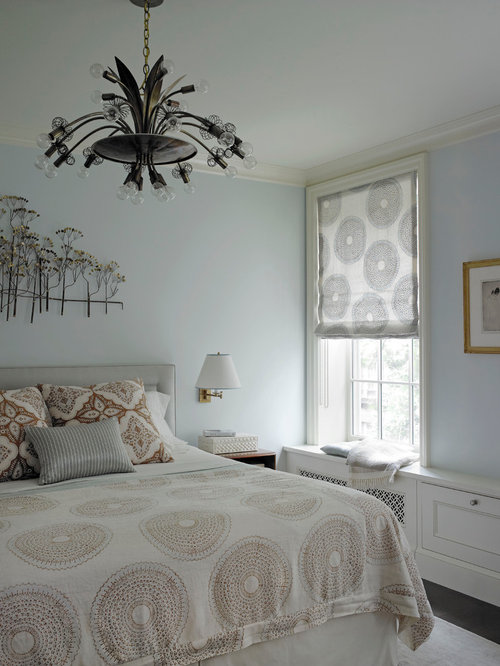 houzz  modern bedroom curtains design ideas  remodel pictures, Bedroom decor