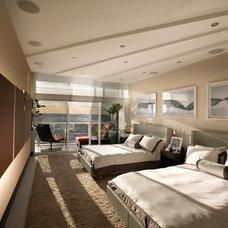 Modern Bedroom by Britto Charette Interiors - Miami Florida