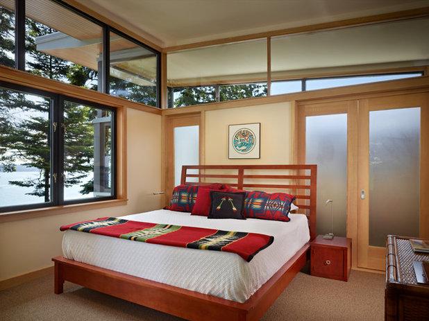 Modern Bedroom by FINNE Architects