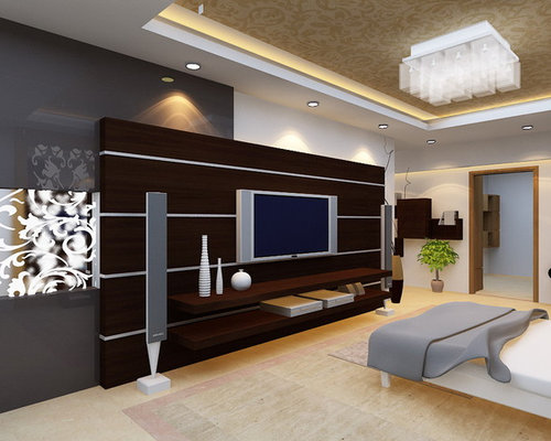 Lcd unit home design ideas pictures remodel and decor for Latest lcd wall unit designs