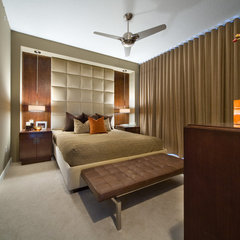 modern bedroom by Dawn Kaiser Design, LLC.