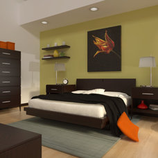 Modern Bedroom by jacqueline interior design