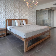 Modern Bedroom by Itsuv Design Lab