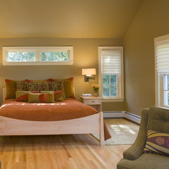 contemporary bedroom by Kirsten Floyd Interior Design LLC