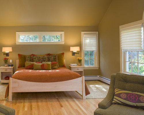 Windows Above Bed Home Design Ideas Pictures Remodel And