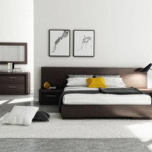Modernes Hauptschlafzimmer in New York