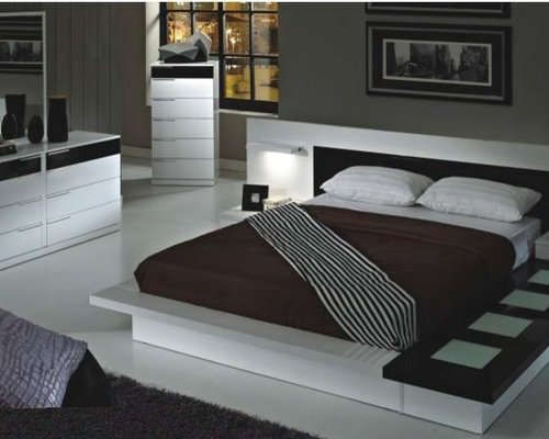 Modern bedroom idea in New York. Designer Bedroom Furniture   Houzz