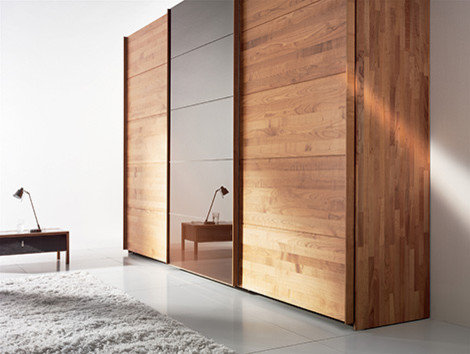 Sliding Wardrobe Doors And Dark Fur Rug Ideas Sliding Wardrobe Doors