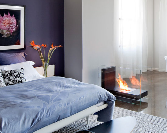 Bedroom Fireplace Houzz