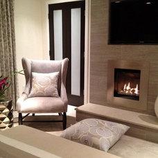 Modern Bedroom by Angela Ruple Interior Design