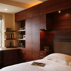modern bedroom by Rodriguez Studio Architecture PC