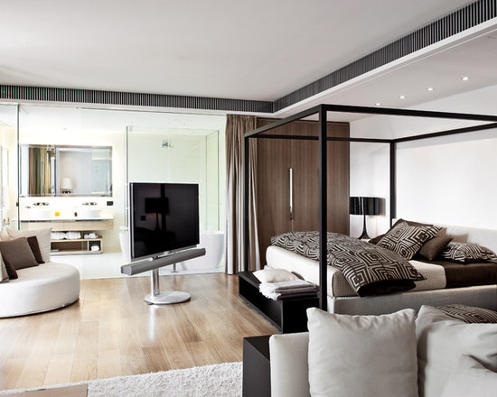 Modern Bedroom Pictures With Tv best bedroom tv stands contemporary - decorating home design