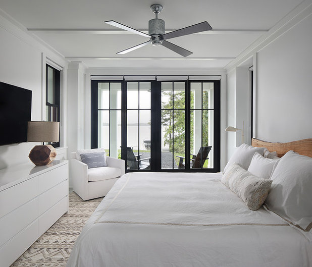 Farmhouse Bedroom by Colby Construction