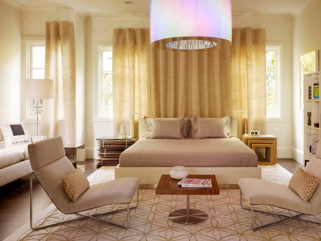 Contemporary Bedroom by Gary Hutton Design