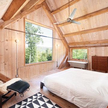 Modern Cabin on the Pond