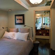 Contemporary Bedroom by Sam Van Fleet Photography
