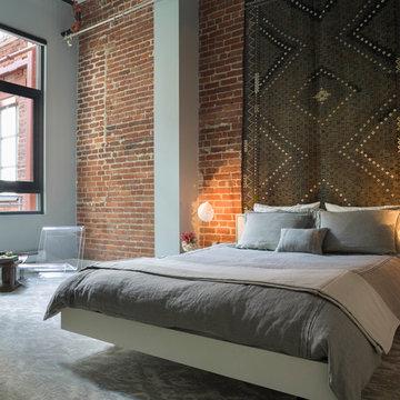 Modern City Loft Bedroom