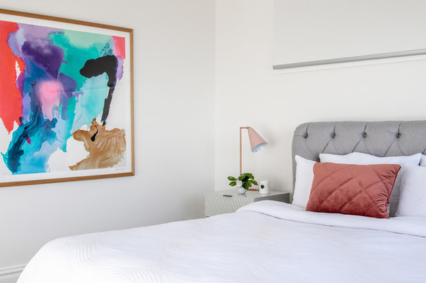 Contemporary Bedroom by Nimmo Nielsen Collective