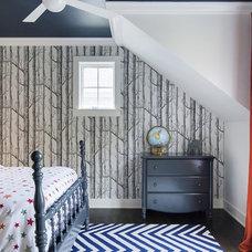 Transitional Bedroom by Charlie & Co. Design, Ltd