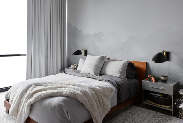 Contemporary Bedroom by Devon Grace Interiors
