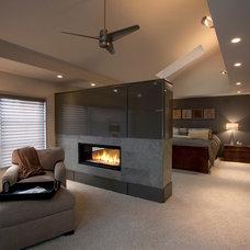 Contemporary Bedroom by Copper Leaf Interior Design Studio