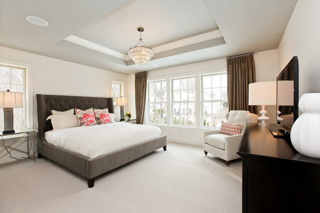 Contemporary Bedroom by REFINED LLC