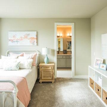Modern Cottage Teen Girls Room