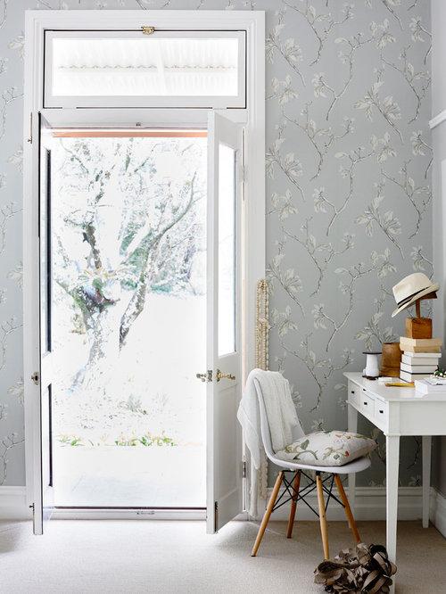 James dunlop wallpaper 39 eau de nil 39 home design ideas for Eau de nil bedroom ideas