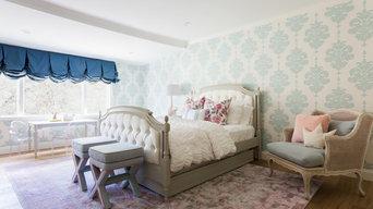 Modern Day Marie Antoinette Bedroom- Los Angeles, California