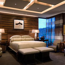 contemporary bedroom by Harte Brownlee & Associates Interior Design