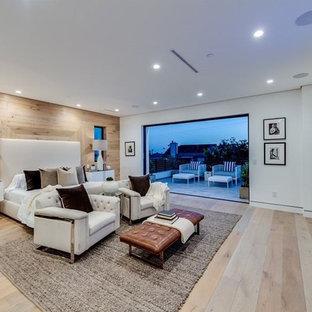 modern design in Woodruff LA bedroom