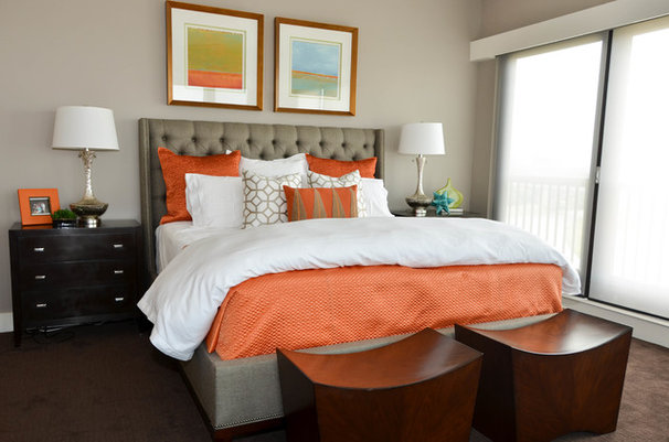 Contemporary Bedroom by Kevin Twitty- IBB Designer