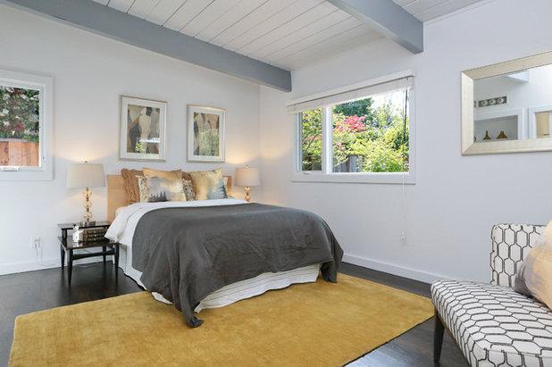 Modern Bedroom by Sissela Malmstrom Architect